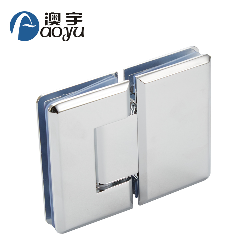 ay-504a Hot sale adjustable 180 degree glass to glass shower door hinge for bathroom
