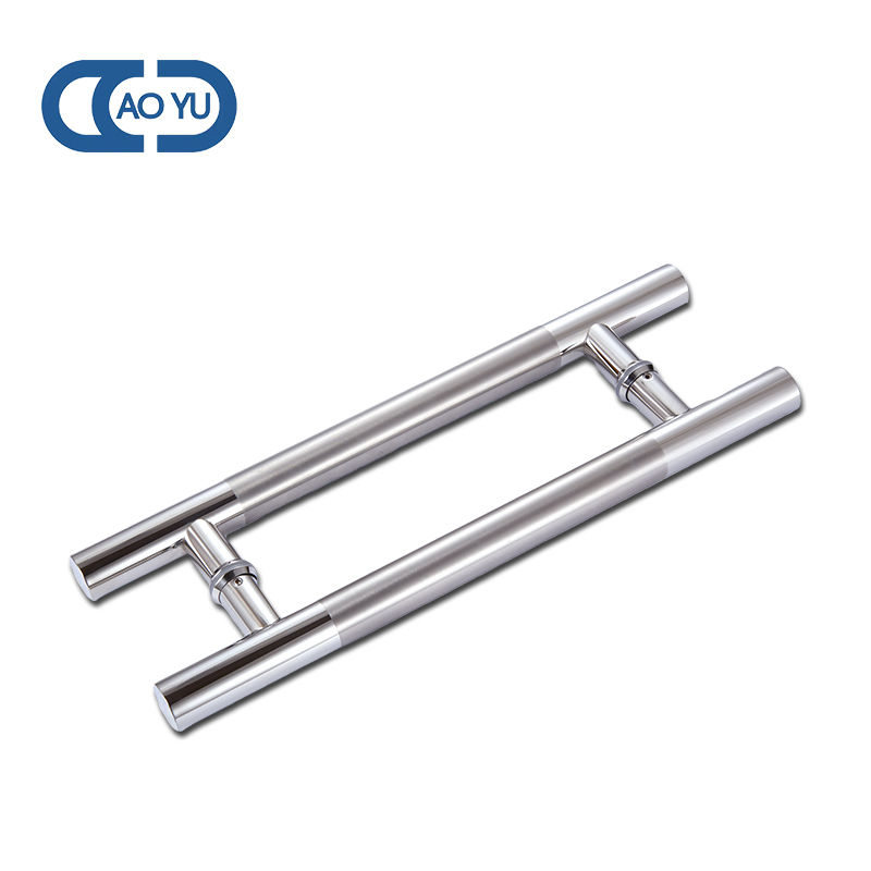 AY-1709 Stainless Steel 304 Pull Handle Mirror Or Drawbench For Glass Door